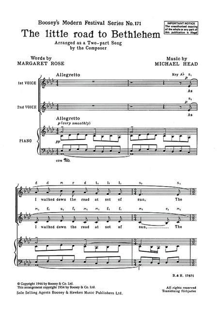 The-little-road-to-Bethlehem-Christmas-Carol-Head-Michael-choral-score-female